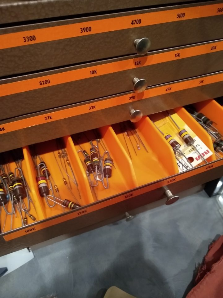 Consolidated Resistor Drawer